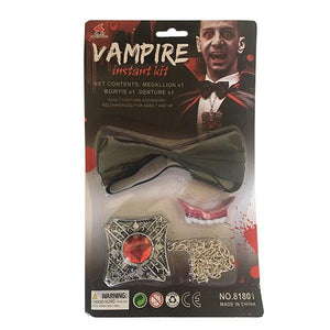 Instant Vampire Kit Dress Up Not specified
