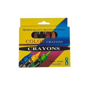 Jumbo Crayons 8 Toys Not specified