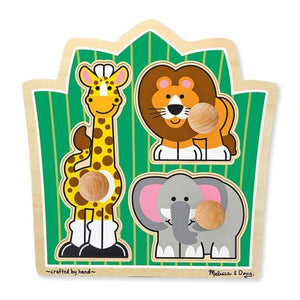 Jungle Friends Jumbo Knob Toys Melissa & Doug