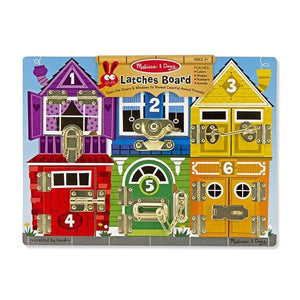 Latches Board Toys Melissa & Doug