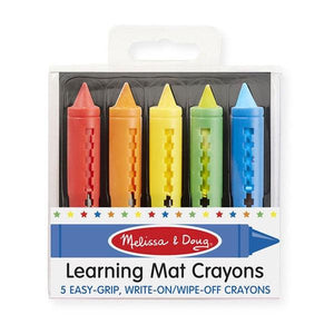 Learning Mat Crayons Toys Melissa & Doug