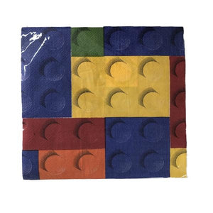 Lego Serviettes 20pc Parties Not specified