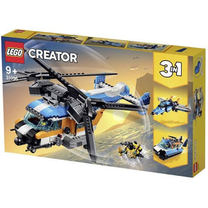 LEGO Twin-Rotor Helicopter Toys Lego