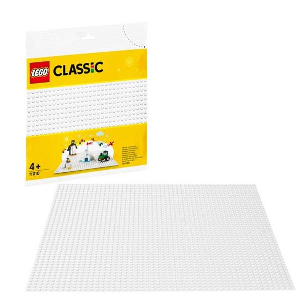 LEGO White Base Plate
