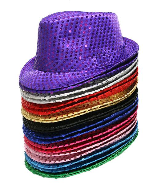 Mafia Sequin Hat