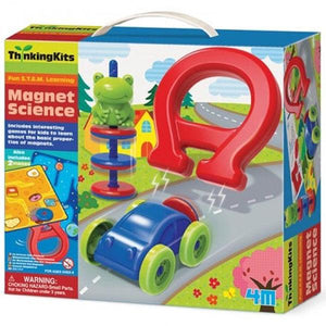 Magnet Science Thinking Kit Toys 4M