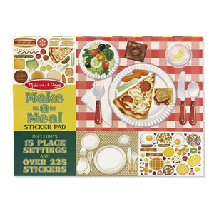 Make a Meal Sticker pad Toys Melissa & Doug