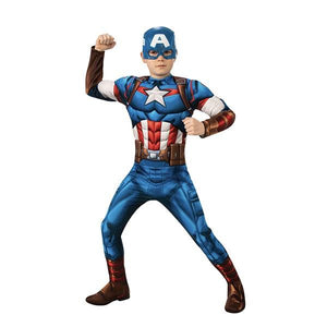 Marvel Captain America Deluxe Outfit Dress Up Avengers (Marvel)