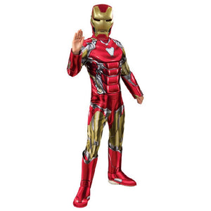Marvel End Game Iron Man Deluxe Costume Dress Up Avengers (Marvel)
