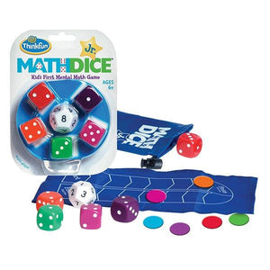 Math Dice Jr Toys Think Fun
