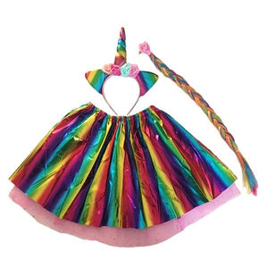 M/C Unicorn Tutu Set (Age 3-6) Dress Up Not specified