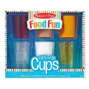 Melissa & Doug Create a Meal - Fill'em up Cups Toys Not specified