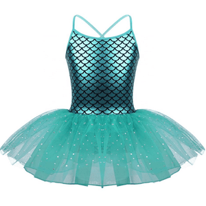 Mermaid Leotard Dress Emerald Dress Up Not specified