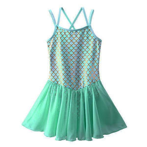 Mermaid Leotard Tutu Dress Up Not specified