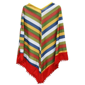 Mexican Poncho (Age 7-9) Dress Up Not specified