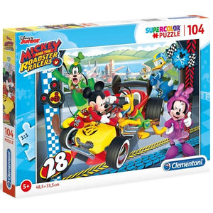Mickey Roadsters 104Pc Toys Clementoni