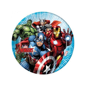 Mighty Avengers Paper Plates Parties Not specified
