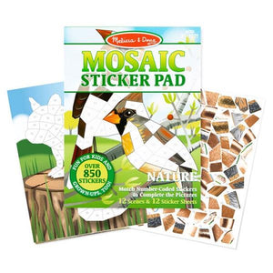 Mosaic Sticker Pad - Nature Toys Melissa & Doug