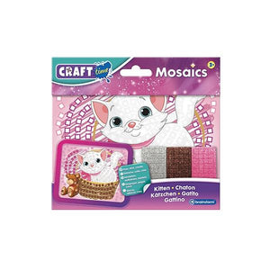 Mosaics Mini Kitten Toys Craft Time