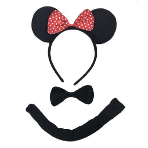 Mouse Set 3pc Dress Up Not specified