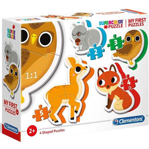 My First Puzzle Forest Animals 2+3+4+5pc Toys Clementoni