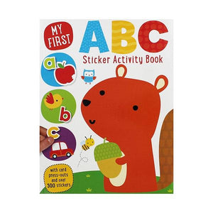 My First Sticker ABC Activity Book Toys Not specified