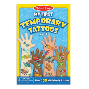 My First Temporary Tattoos - Blue Toys Melissa & Doug