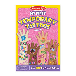 My First Temporary Tattoos - Pink Toys Melissa & Doug