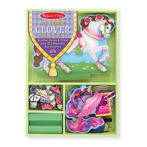 My Horse Clover Magnetic Dress-up Toys Melissa & Doug