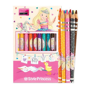 My Style Princess Coloured Pencils Toys Top Model