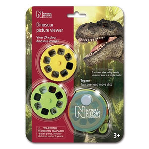 Natural History Museum Dinosaur Picture Viewer Toys Brainstorm
