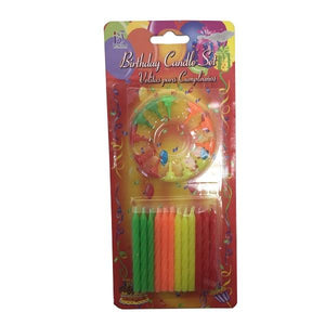 Neon Birthday Candles Parties Not specified