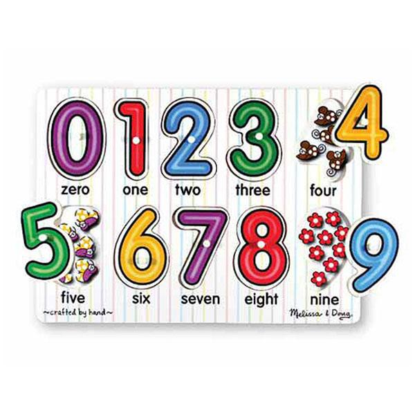 Numbers Peg Puzzle