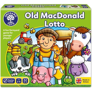 Old McDonald Lotto Toys Orchard Toys