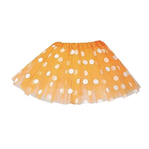 Orange Polka Dot Tutu Skirt (Age 3-6) Dress Up Not specified