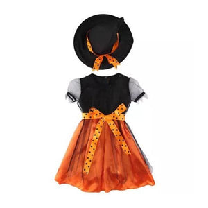 Orange Witch Dress Dress Up Not specified