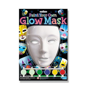 Paint your Own Glow Mask Toys 4M