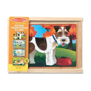 Pets Puzzles in a Box Toys Melissa & Doug