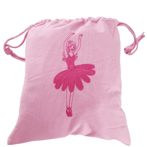 Pink Ballerina Drawstring Ballet Bag Ballet Not specified