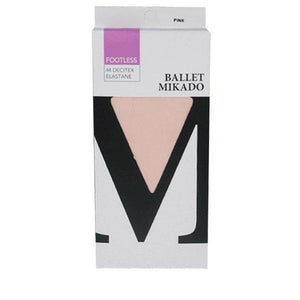 Pink Footless Tights Ballet Not specified