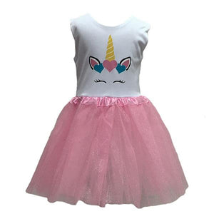 Pink Unicorn Tutu Dress Up Not specified