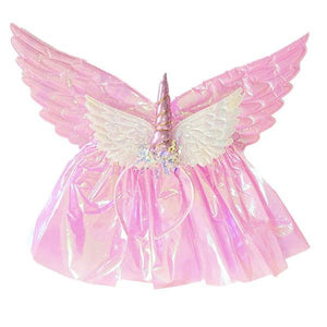 Pink Unicorn Wing Tutu Set (Age 3-6) Dress Up Not specified