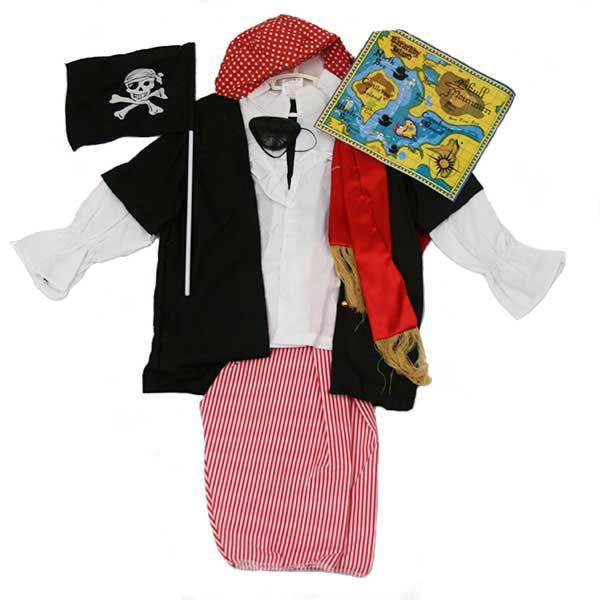 Pirate Outfit (Age 3-6)