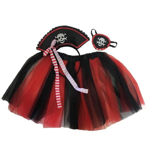 Pirate Tutu Set (Age 3-6) Dress Up Not specified