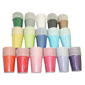 Plain Paper Cups Parties Not specified