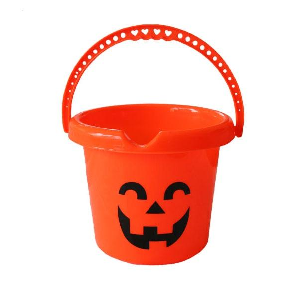 Plastic Bucket Pumpkin