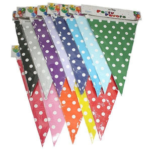 Polka Dot Bunting Parties Not specified