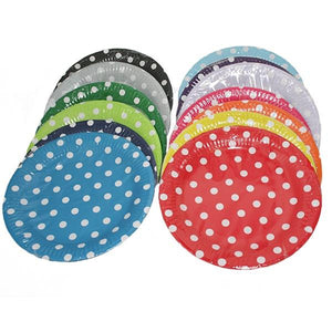 Polka Dot Paper Plates Parties Not specified