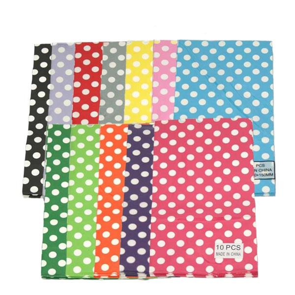Polka Dot Party Bags 10pc