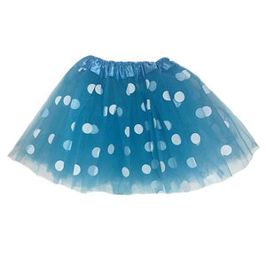 Polka Dot Tutu Skirt (Age 3-6) Dress Up Not specified Blue